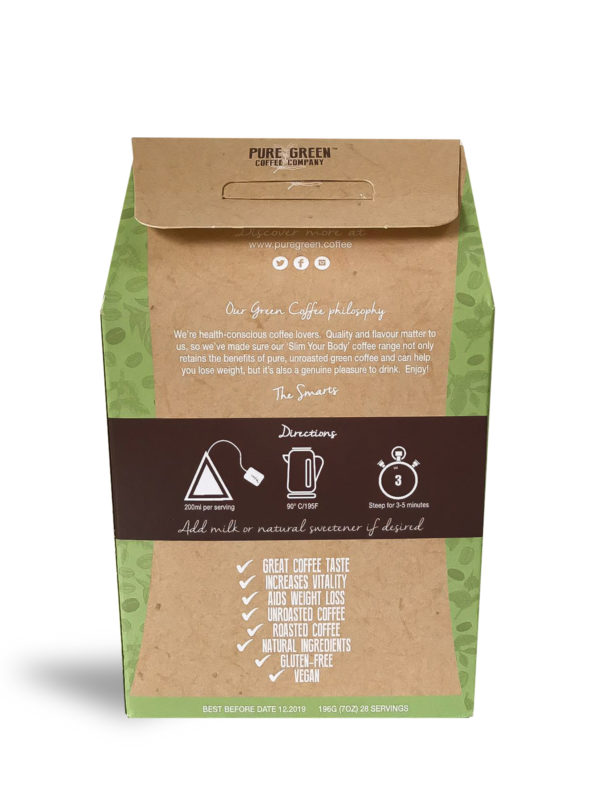 Detox Green Coffee 28 Back