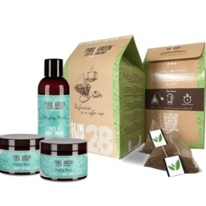 Detox Green Coffee 28 day & Mighty Mint