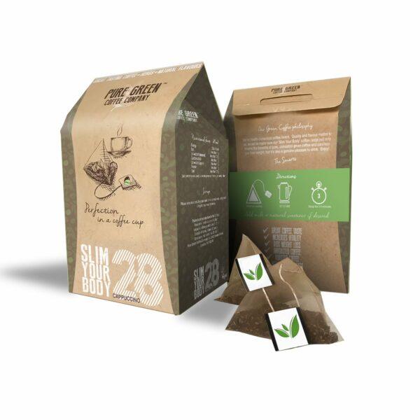 Detox Cappuccino Green Coffee 28 Program