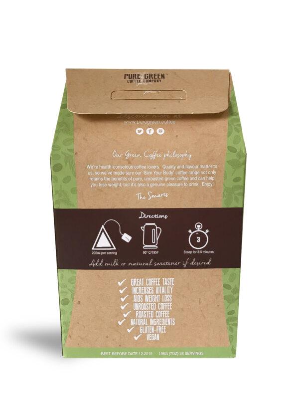 Detox Green Coffee 28 Back